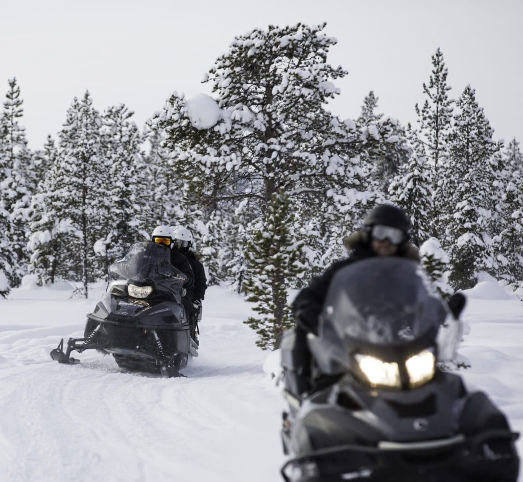 Snowmobiling Norway