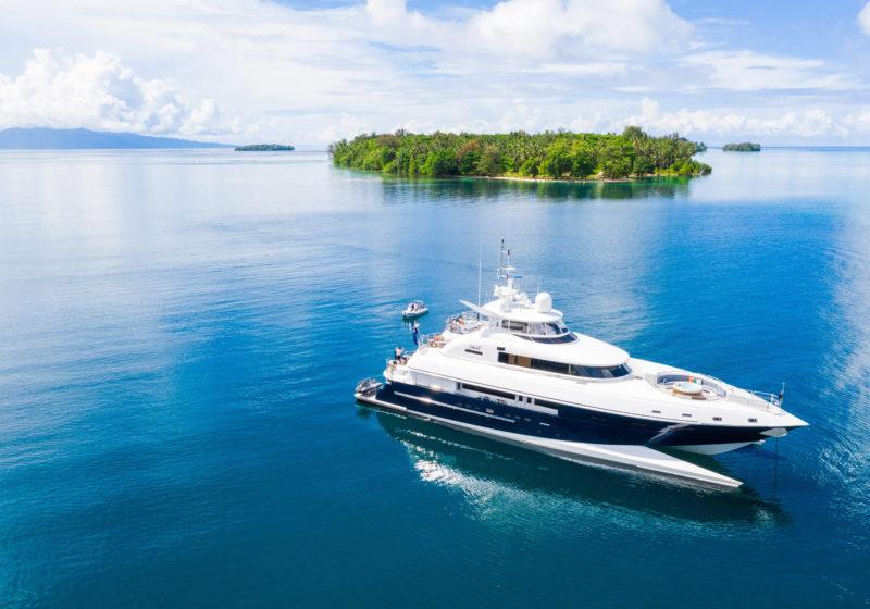Solomon Island yacht