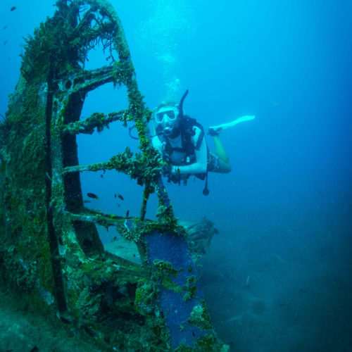 solomon islands wreck diving