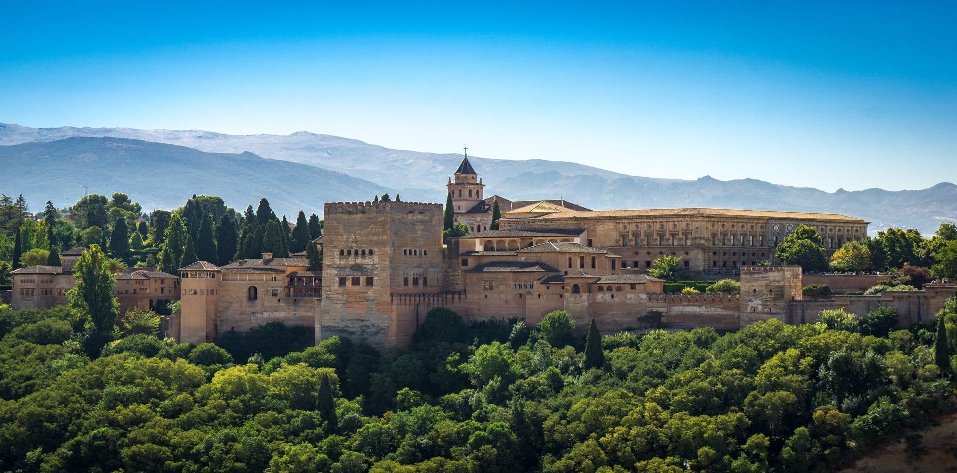 Spain Granada Alhambra