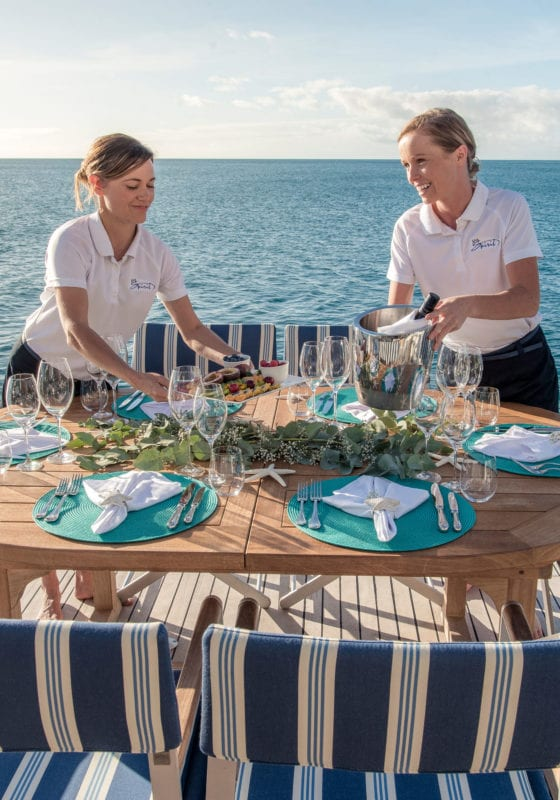 spirit yacht dining deck