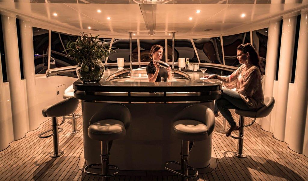 spirit yacht exterior