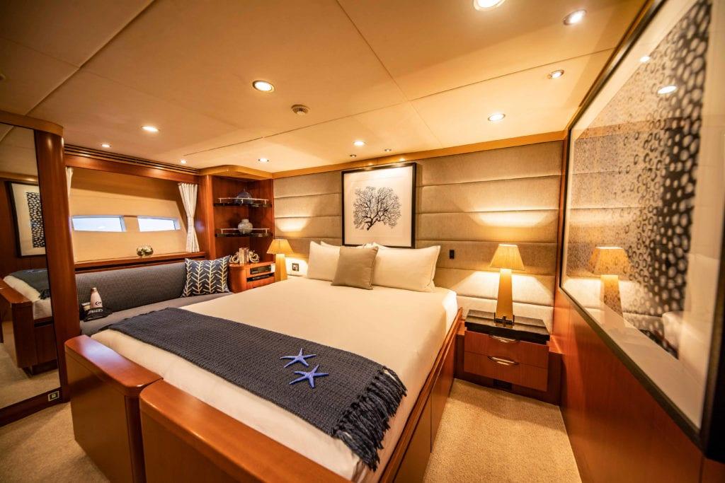 spirit yacht interior cabin