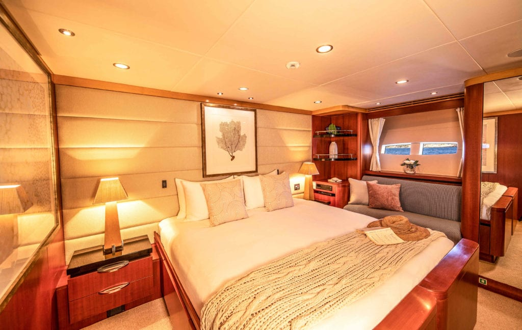 Interior yacht spirit