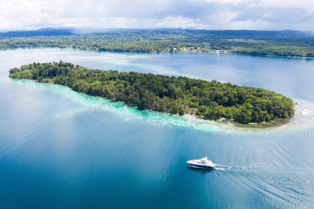 spirit yacht exterior solomon islands