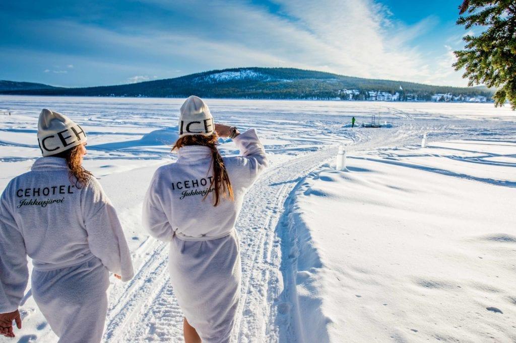 Sweden Ice Hotel Landscape