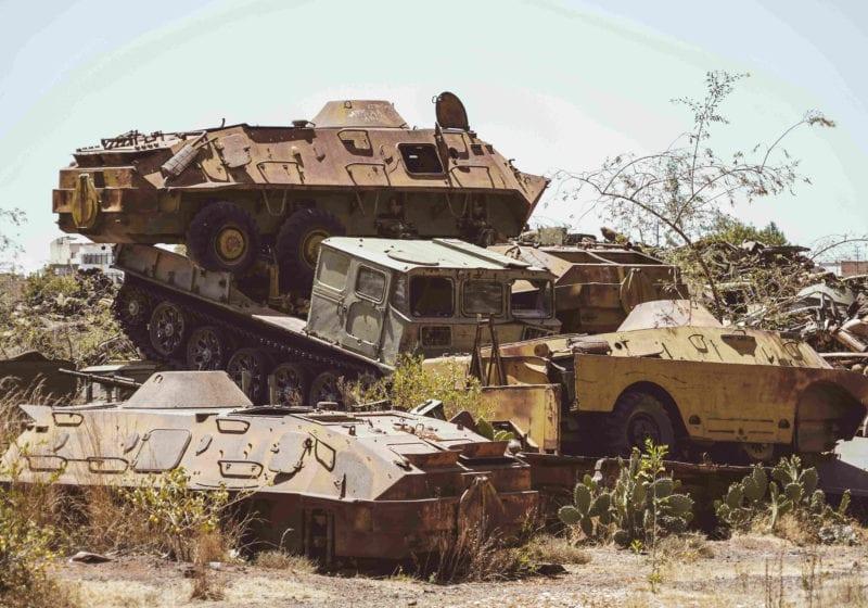 Tank Graveyard Eritrea Pelorus