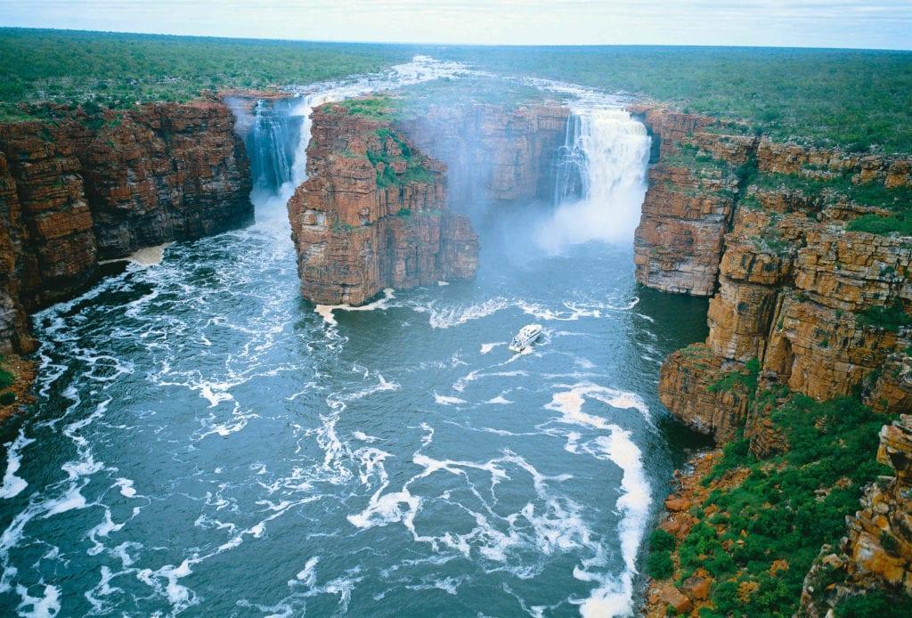 The Kimberley Australia Scenic Flight Waterfalls