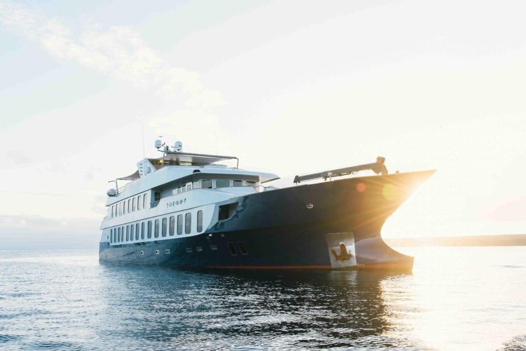 theory yacht galapagos