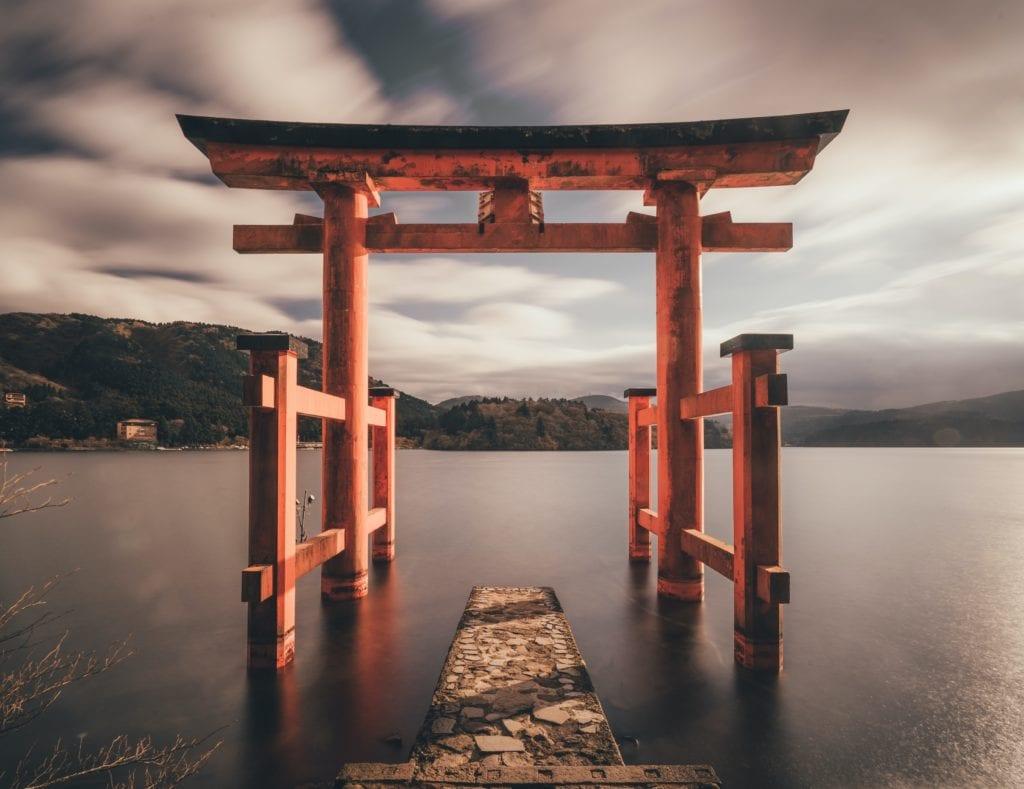 Underwater Torii Japan