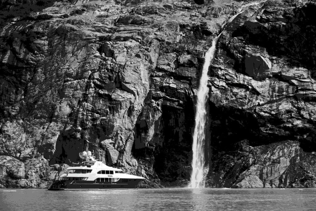 Yacht Alaska Waterfall Pelorus
