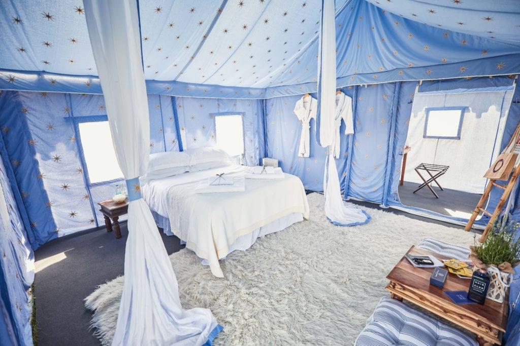 Camp Kerala at Glastonbury Festival England