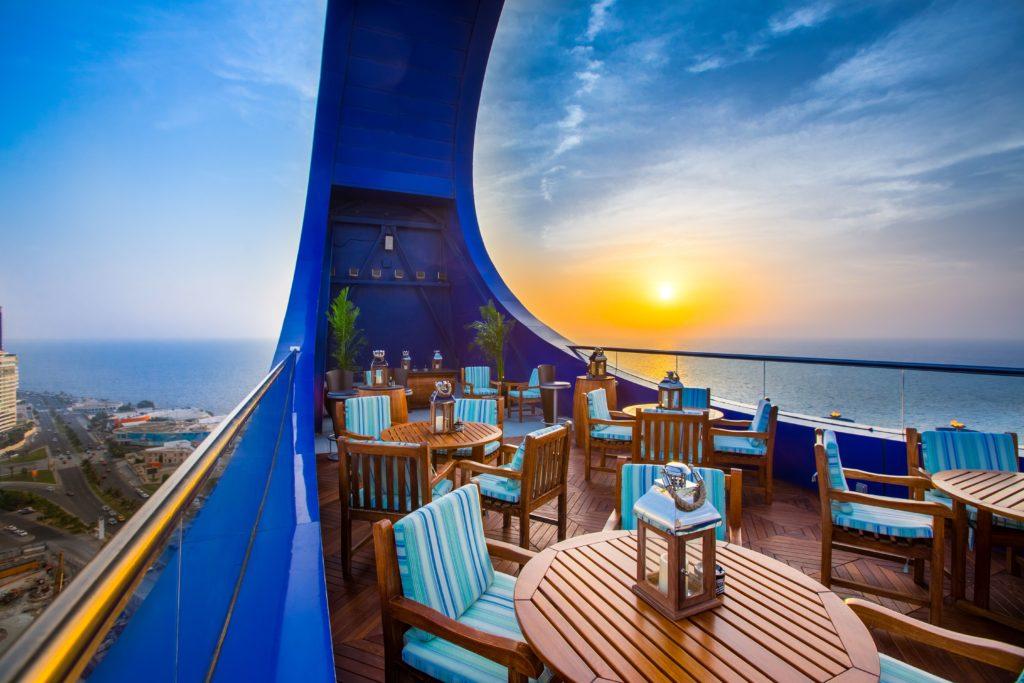 Al Malaki Outdoor Lounge Terrace Rosewood Jeddah Saudi Arabia