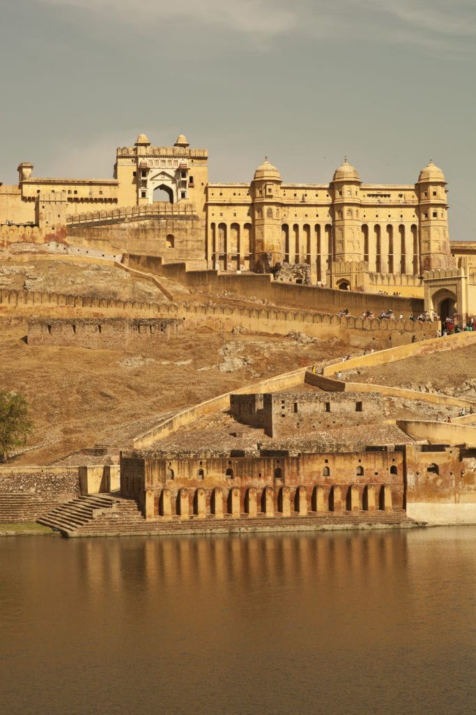 Amer Fort in Jaipur, India