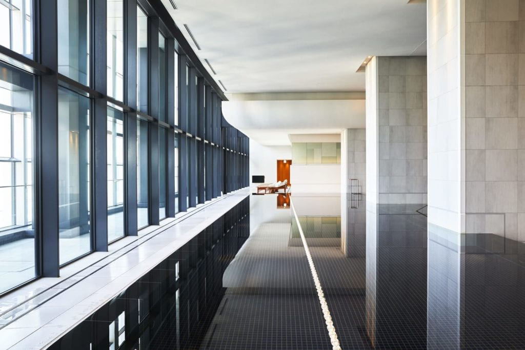 Andaz Tokyo Spa Interior with Pool Japan