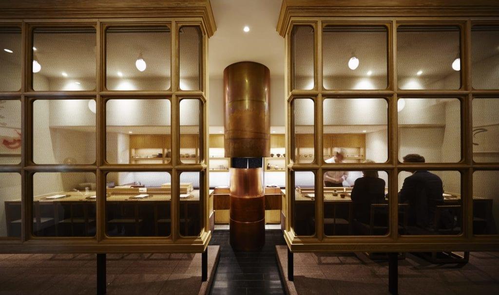 The Andaz Tokyo Sushi Bar Interior Japan