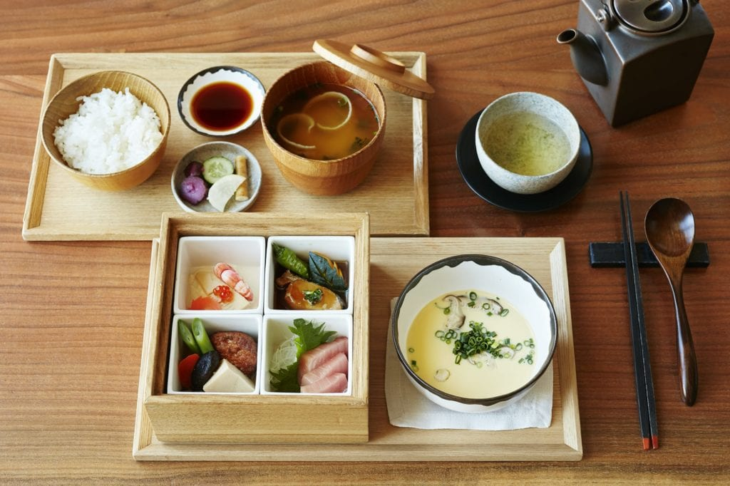 The Tavern Breakfast at The Andaz Tokyo Japan