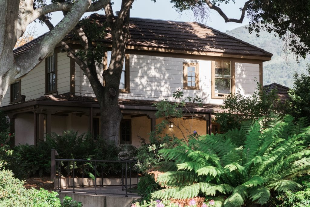 Exterior Architecture of Carmel Valley Ranch America