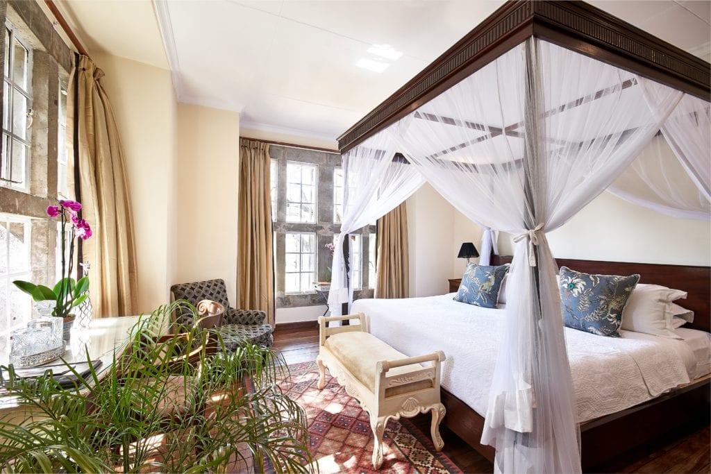 Arlene Room Interior at Giraffe Manor in Kenya