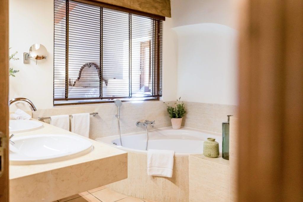 Bathroom Interior at LJs Ratxo Resort Mallorca Spain