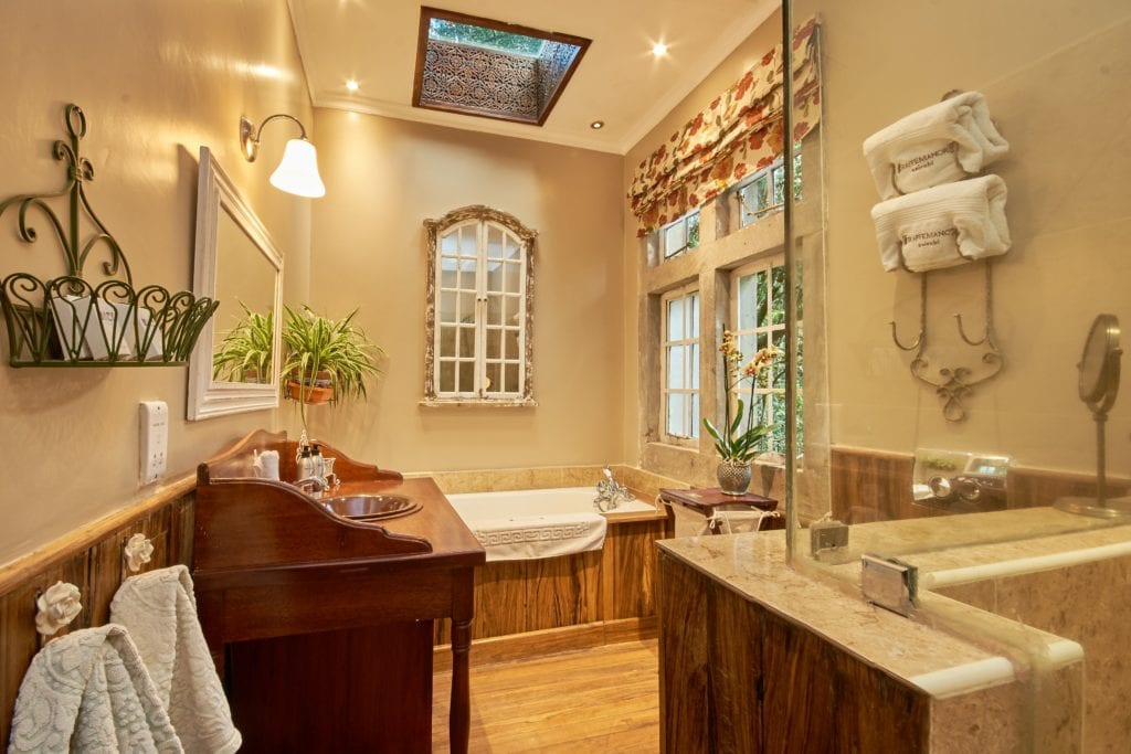 Salma Room Bathroom Interior at Giraffe Manor in Kenya