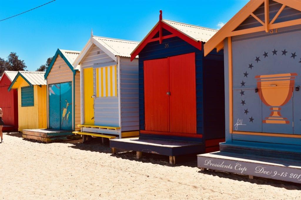 Shorefront Beach Huts in Melbourne Australia