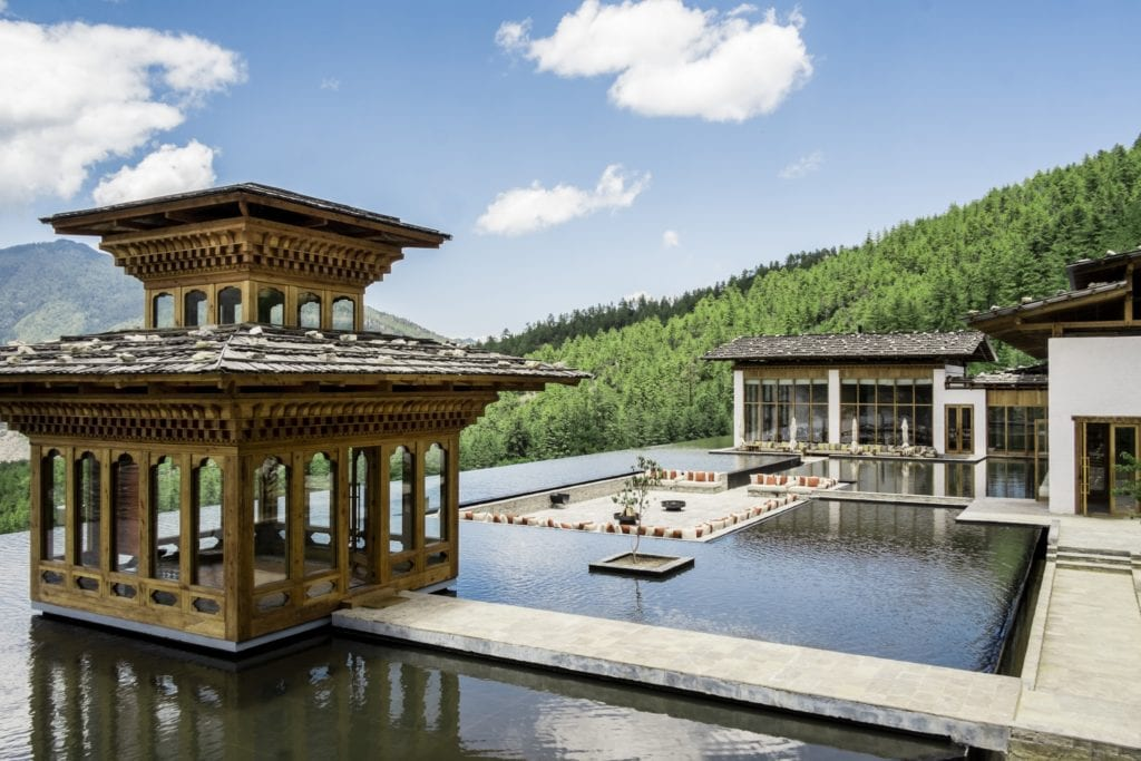 Bhutan Six Senses Thimphu Prayer Pavilion