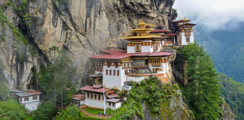 Tigers Nest Temple in Bhutan