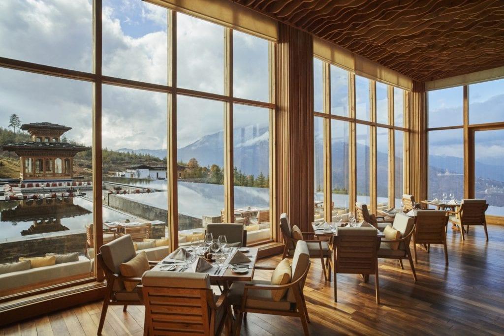 Bhutan Six Senses Thimphu Restaurant Namkha