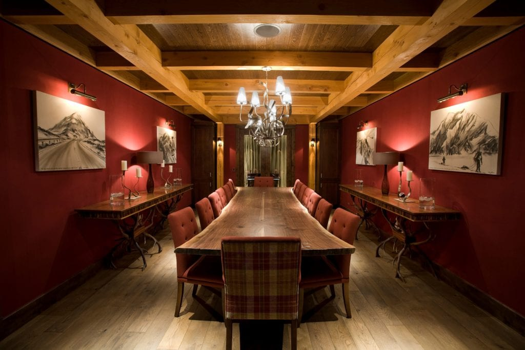 Canada Bighorn Boardroom Dining Room Interior