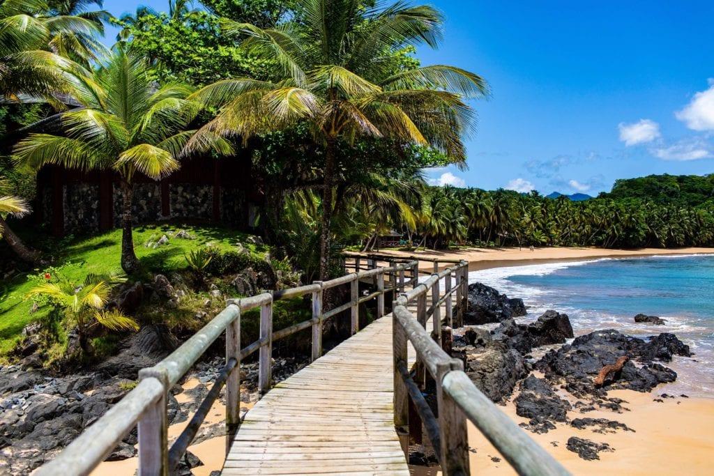Sao Tome and Principe Bom Bom Deck