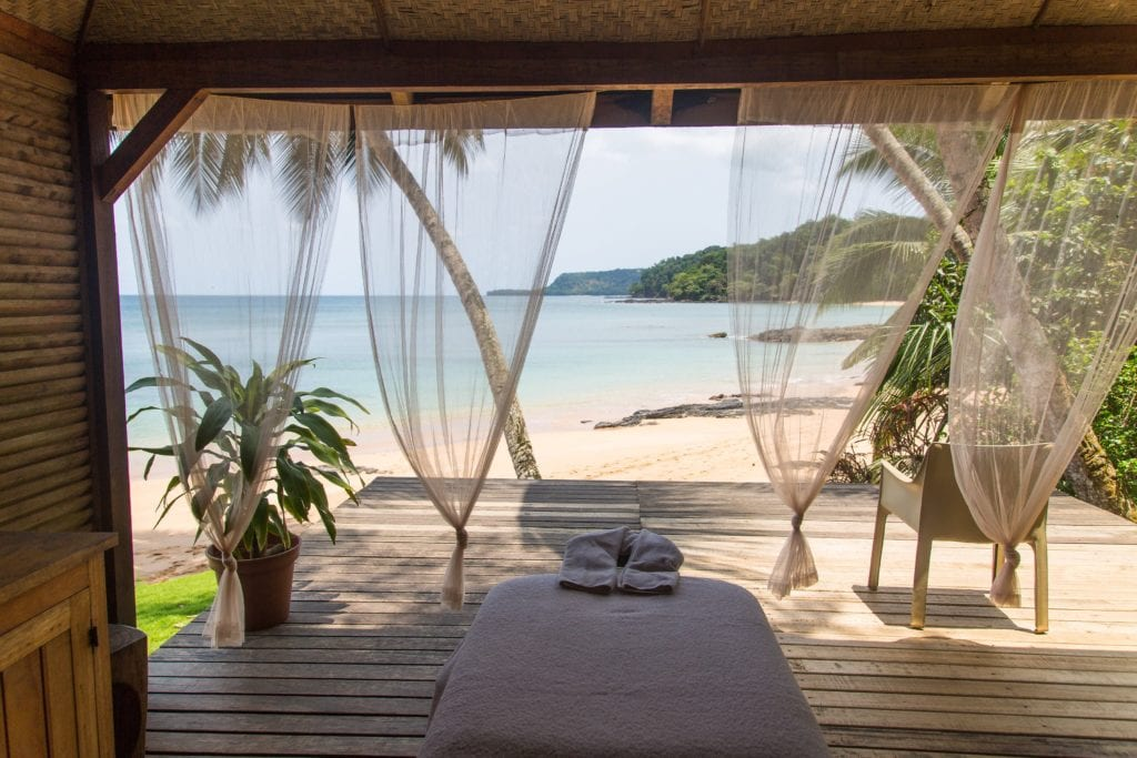 Sao Tome & Principe Bom Bom Spa Room