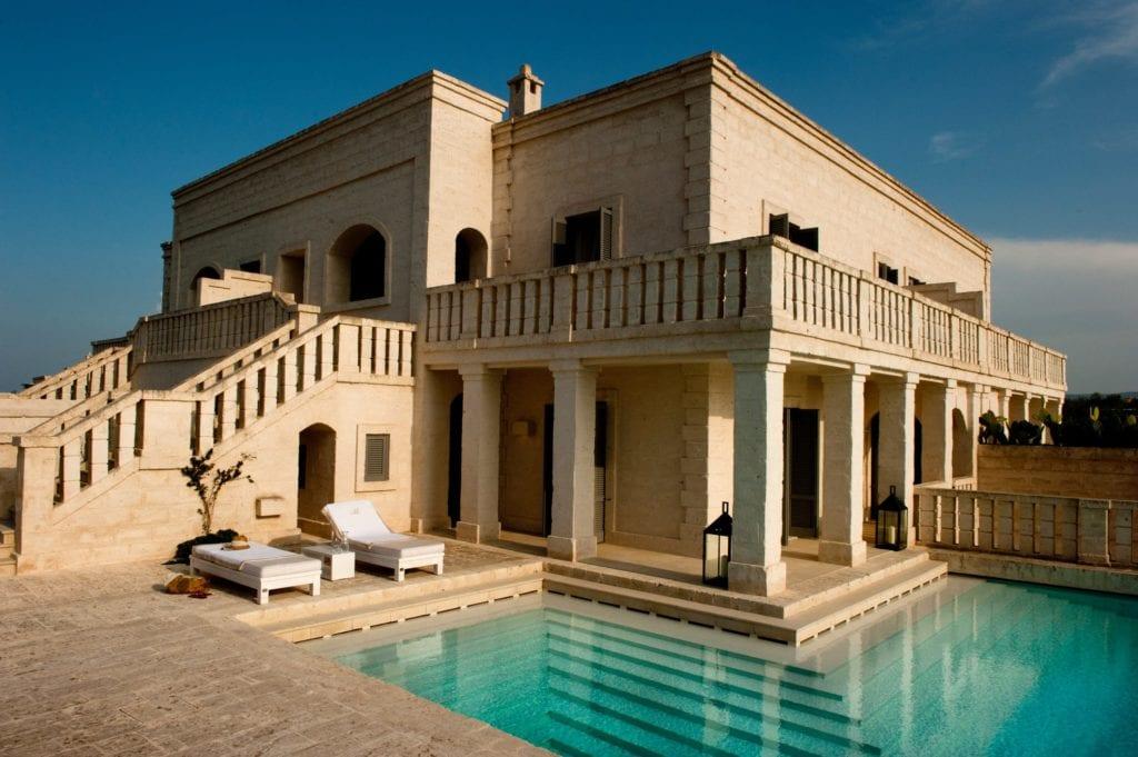 Borgo Egnazia Villa Meravigliosa Pool Nicola Cipriani