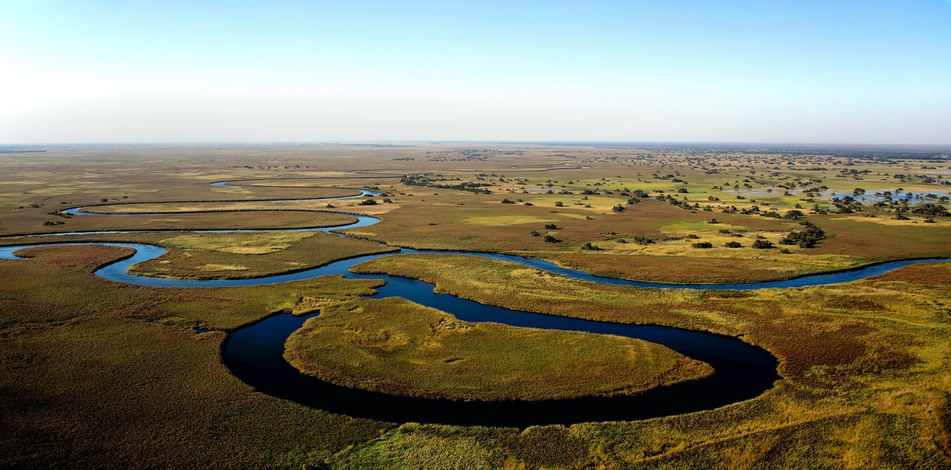 The Okavango Delta in Botswana