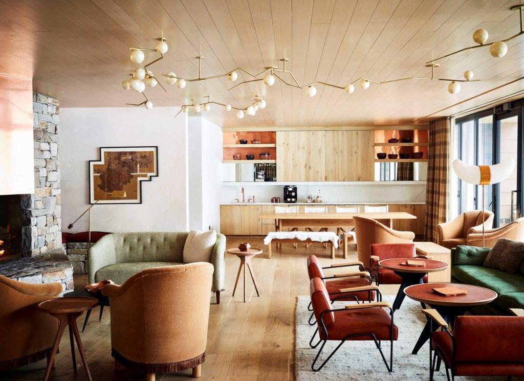 Calder House Lounge Interior America