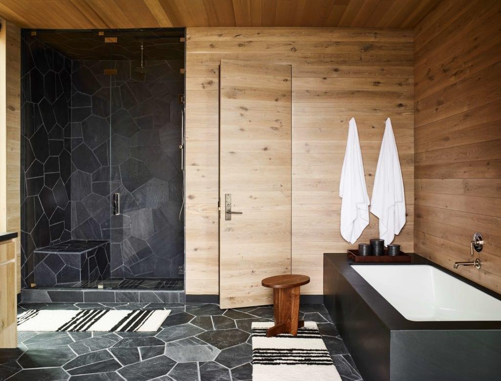 Caldera House Taupo Suite Bathroom Interior America