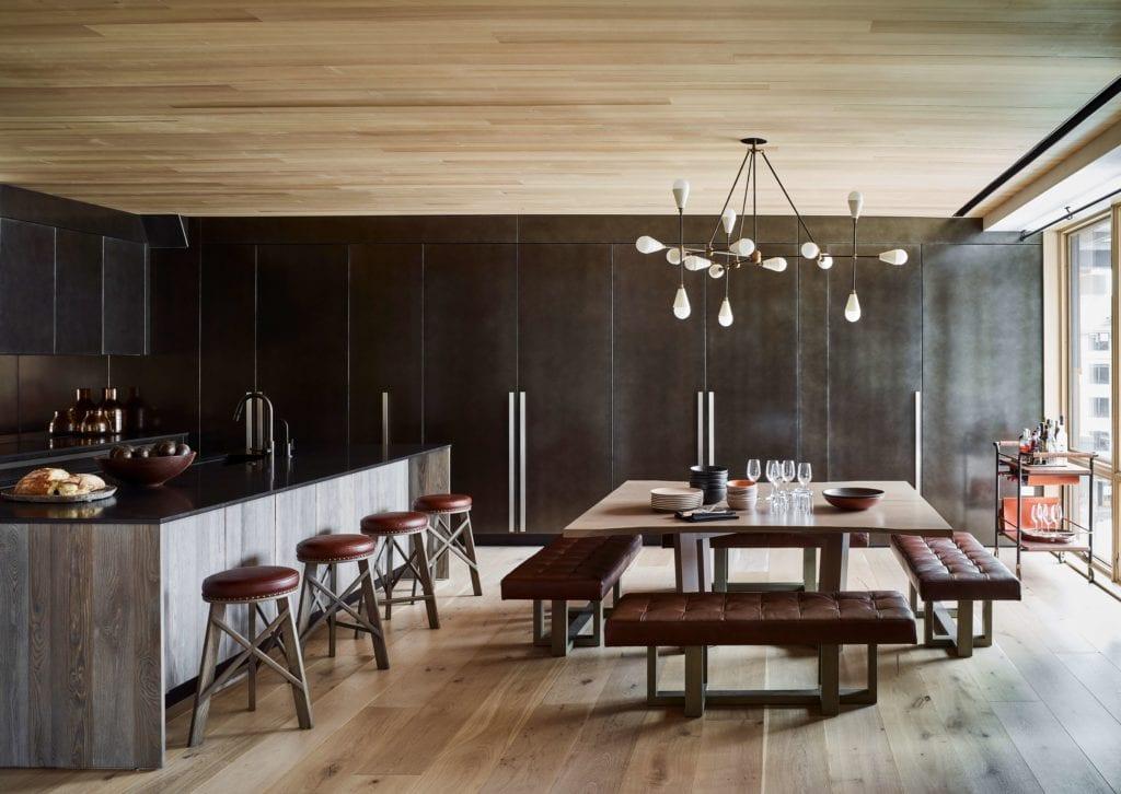 Caldera House Valles Suite Kitchen Dining Area Interior America