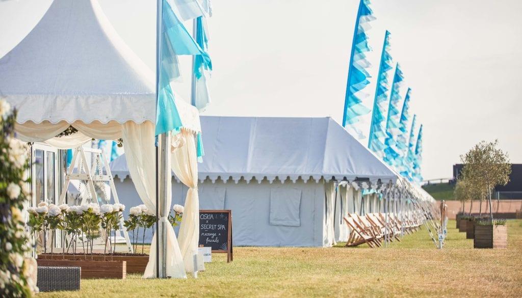 Camp Kerala Exterior Tents England