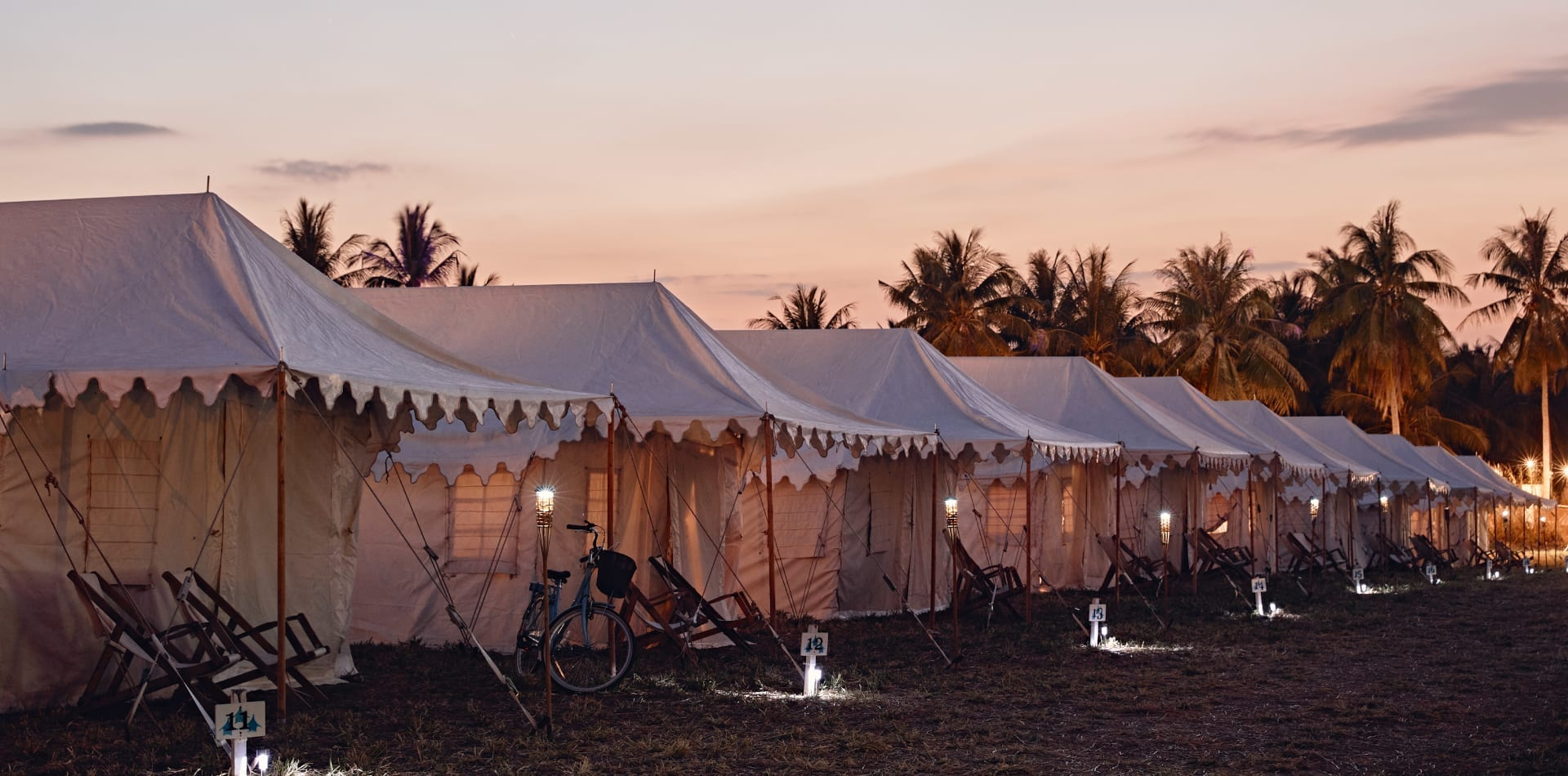 Camp Kerala luxury tents