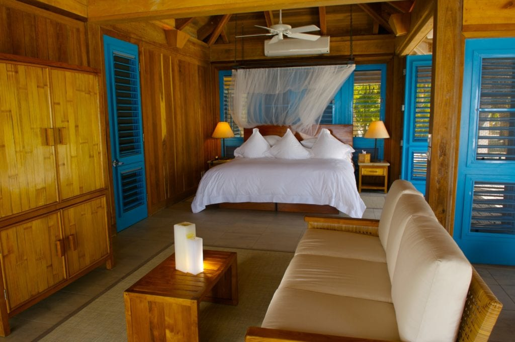 Casa Brisa Interior at Cayo Espanto Belize