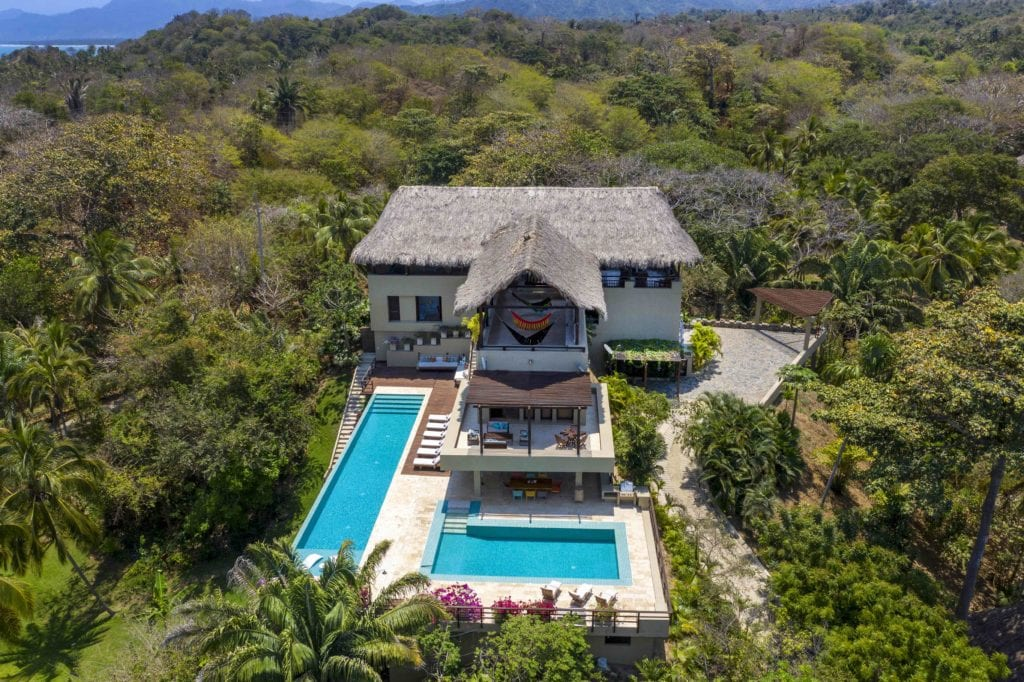 Colombia Tayarona Private Villa Aerial View