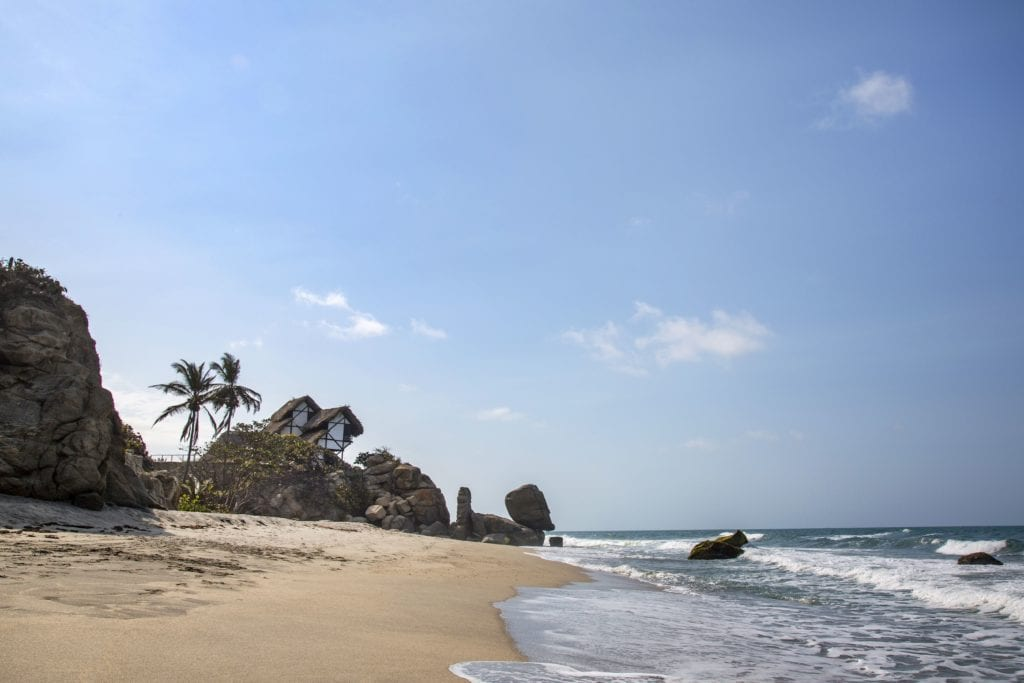 Colombia Tayrona Private Villa Beach