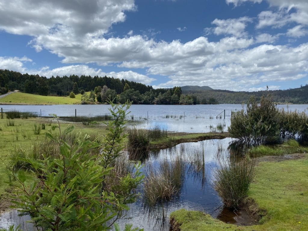 Australian Countryside Lakes and Mountains Photo by Kim Sutcliffe