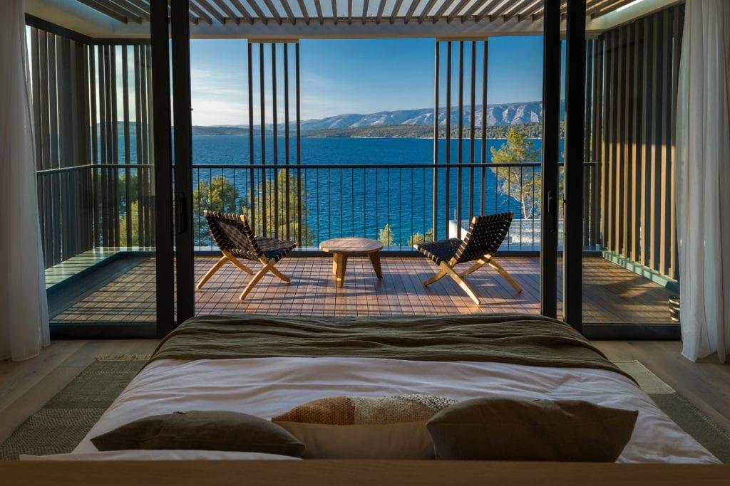 Croatia Meslina Balcony