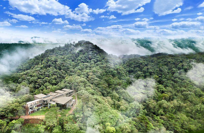 Ecuador Mashpi Lodge Aerial