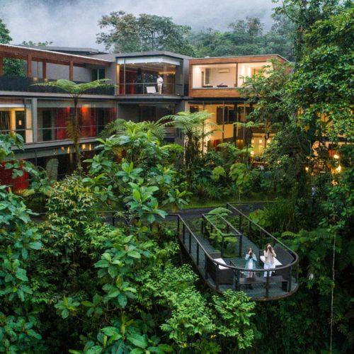 Mashpi Lodge in the heart of the Amazon rainforest