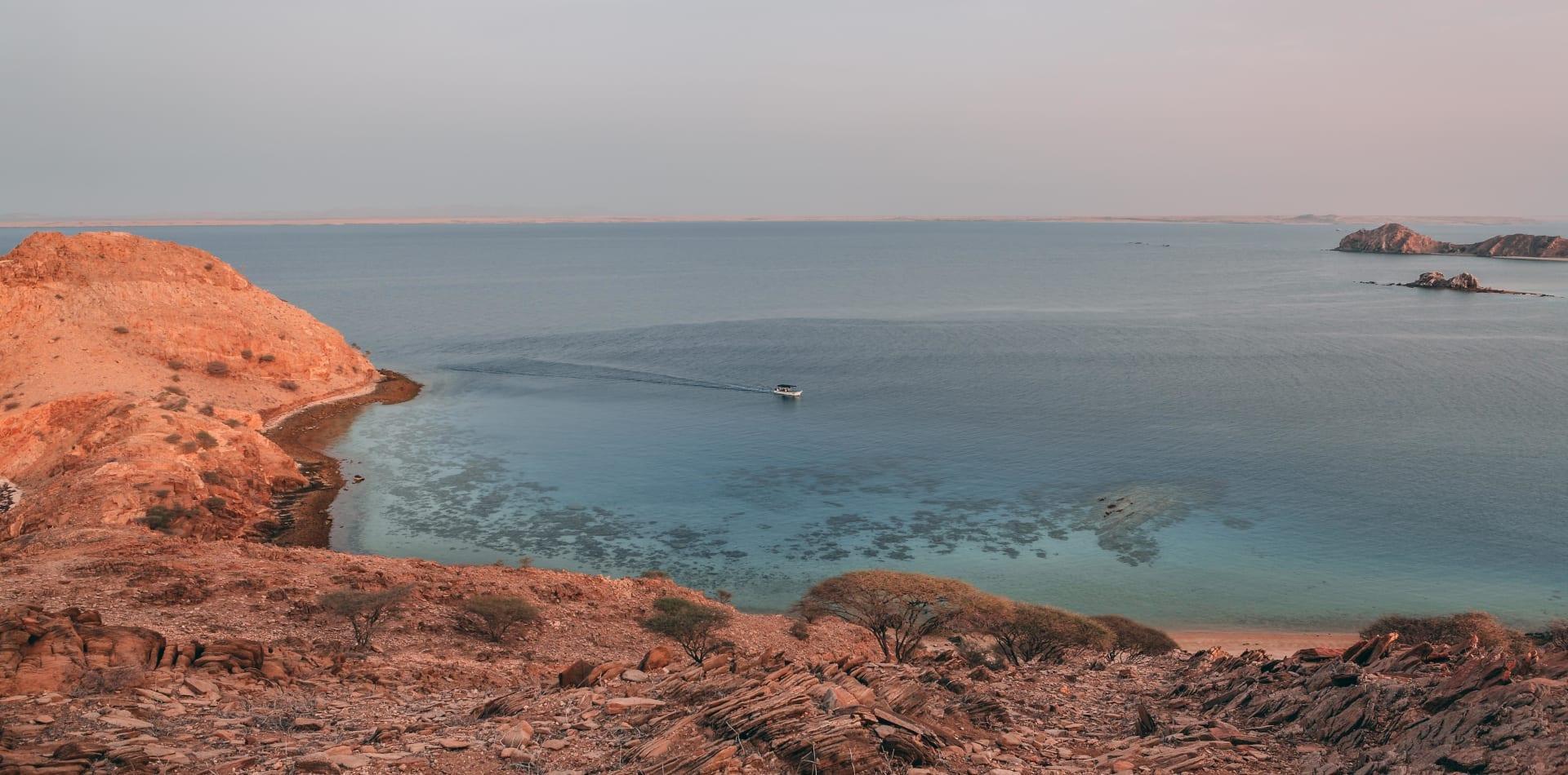Coastline in Eritrea