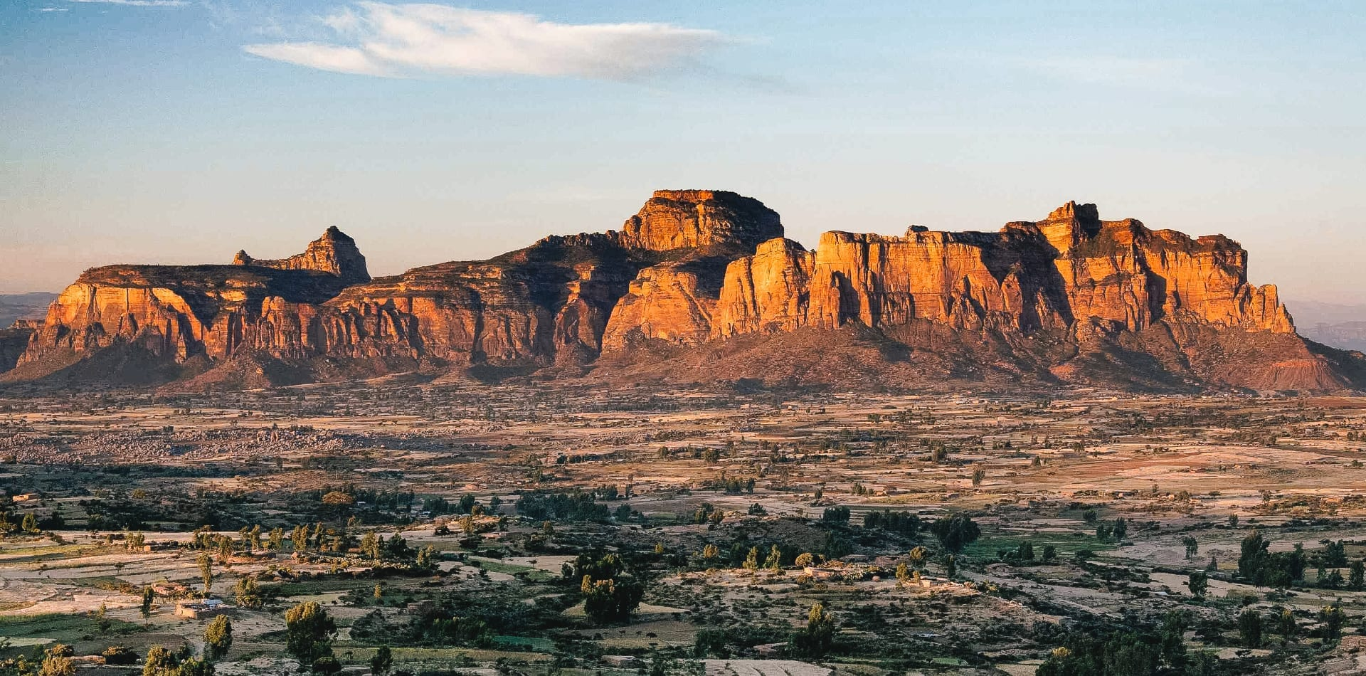 Gheralta Mountains in Ethiopia
