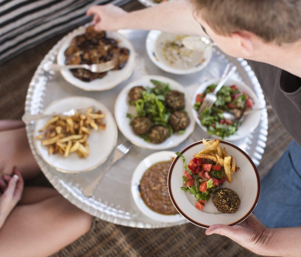 Cuisine onboard Nour El Nil in Egypt
