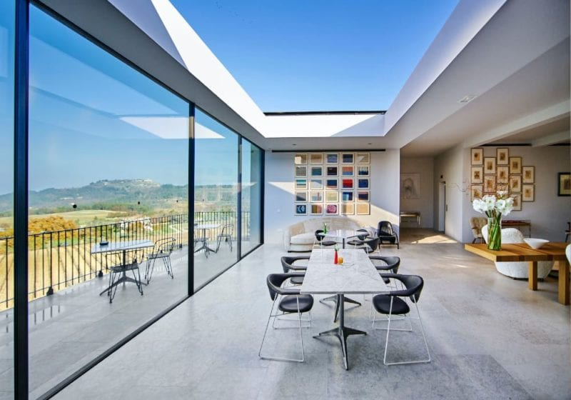 The gallery at Villa La Coste France
